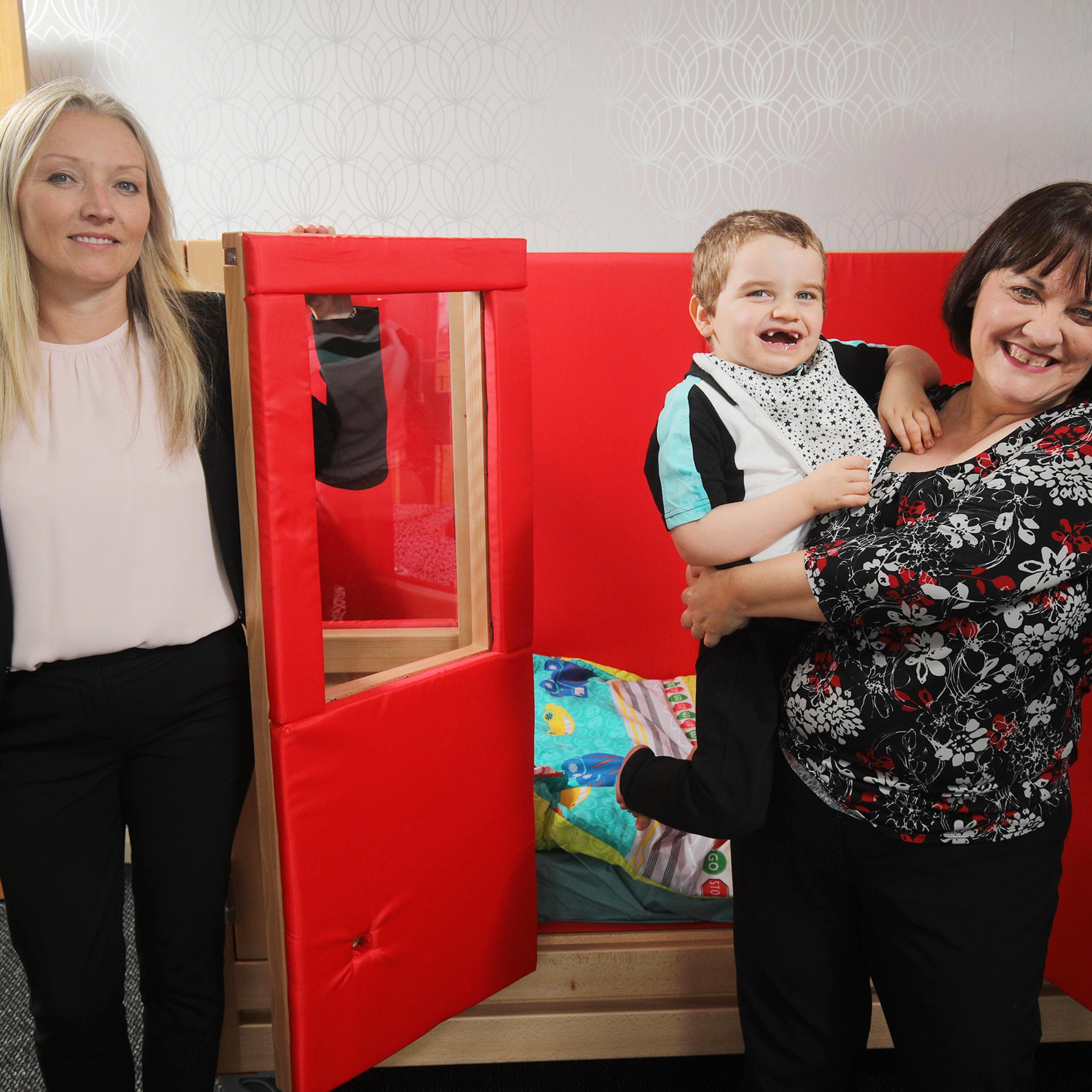 DWF Delivers 'Bed of Dreams' to John Luke