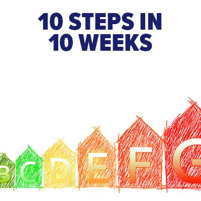 10 steps in 10 weeks