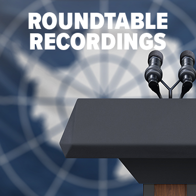 recordings of roundtable on climate COP26