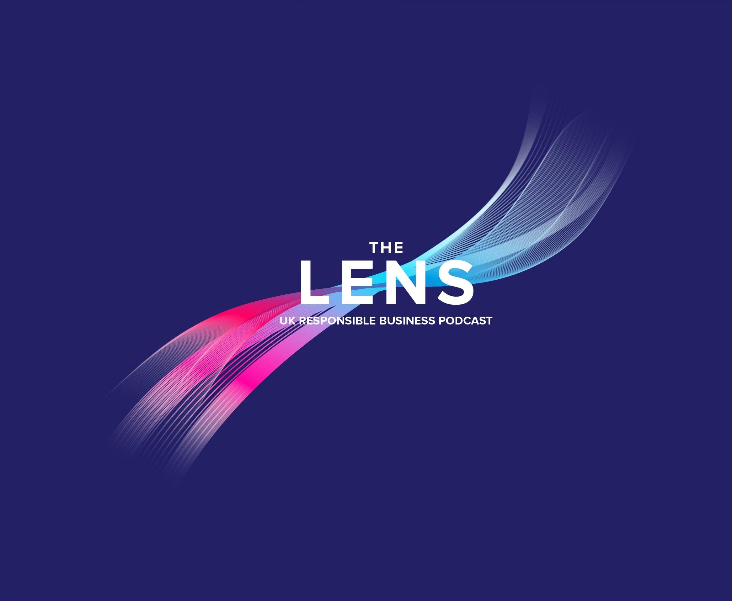 Lens New Logo 2021_on blue